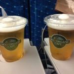 東京駅新幹線生ビール